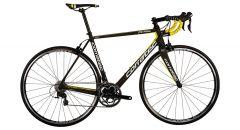 Bicicleta CORRATEC CCT Team 105 carbon mat/galben/alb 540mm