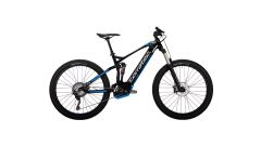 Bicicleta CORRATEC E-Power RS 150 27.5 plus CX negru/alb/albastru 460mm