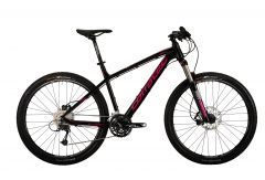 "Bicicleta CORRATEC X-Vert Miss C 27.5"" Negru / Roz 390mm"