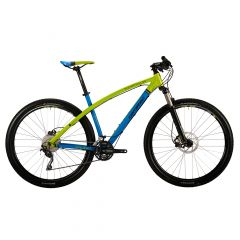 """Bicicleta CORRATEC Super Bow Fun 29"""" Albastru/Verde/Negru 490mm"""