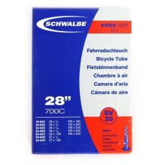 Camera SCHWALBE SV20 EXTRA LIGHT 28'' (18/25-622/630) EK 80mm