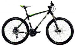 "Bicicleta CORRATEC Halcon 27.5"" Negru/Verde 440mm"