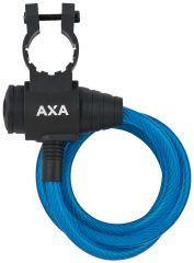Incuietoare cablu AXA Zipp 120/8 albastru